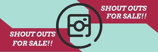 geld verdienen met instagram shoutouts