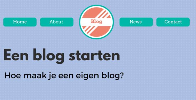 Een blog beginnen - hoe maak je een blog